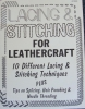 Lacing & Stitching For Leather - Click for more info