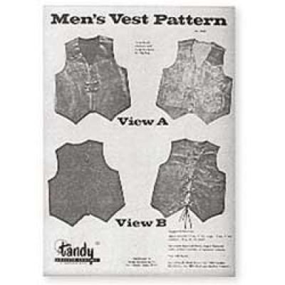 Mens Vest Pattern - Click for more info