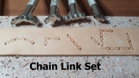 Chain Link 4pc stamp set - Click for more info