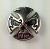 Skull Cross Cycle Concho - Click for more info