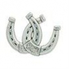 Double Horseshoe Concho - Click for more info