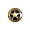 Small Star Concho AB 8mm - Click for more info