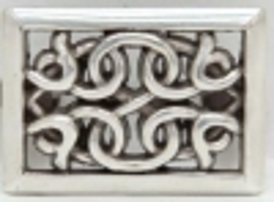 Celtic Rectangle Concho - Click for more info