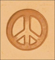 3D stamp peace symbol - Click for more info